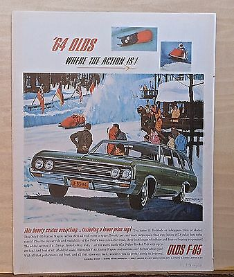 1964 OLDSMOBILE CUTLASS Holiday Coupe f85 Deluxe sedan