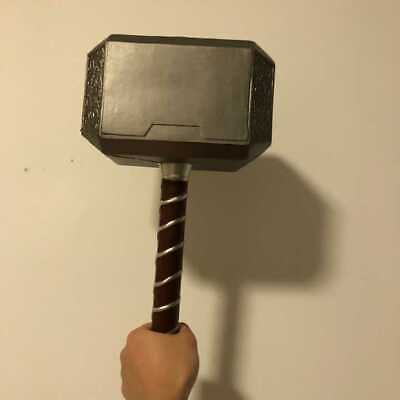 44 cm Cosplay Thor Thunderous Hammer Books Weapons Figure Gift Children