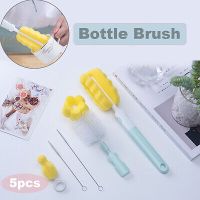 Washing Stainless Steel Cleaning Tools Bottle Brush Nipple Brush Straw Cleaner