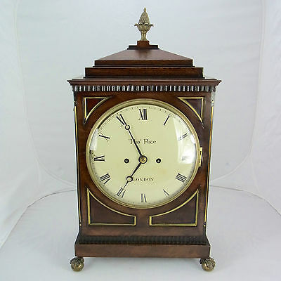 Table Clock Thomas pace London Approx. um 1800