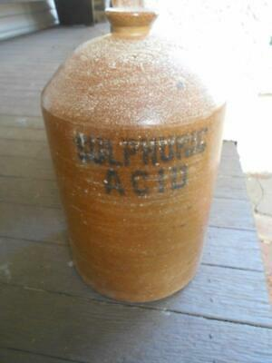 Commonwealth Fertilisers Chemicals Limited Stoneware Demijohn Epsom Bendigo