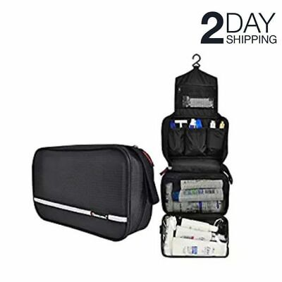 Hanging Toiletry Organizer Bag Travel Organizer Hygiene Shaving Grooming Case