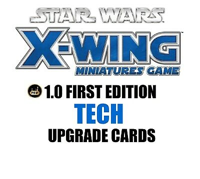 Star Wars X-Wing 1.0 Miniatures Game - Tech Single Upgrade Cards