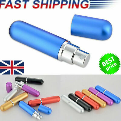 Portable 5ML Travel Set Mini Refillable Perfume Atomizer Bottle Scent Pump Spray