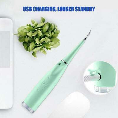 Portable Stains Tooth Scaler Calculus Dental Sonic Electric Remover Tartar GHDK