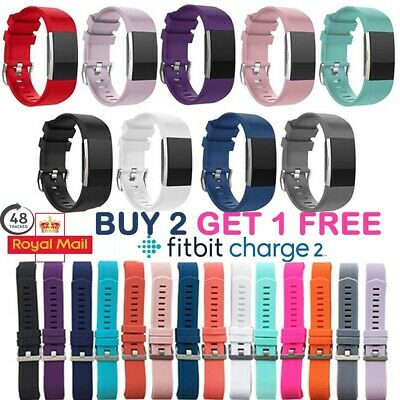 Fitbit Charge 2 Wrist Straps Wristbands Replacement Accessory Watch Band