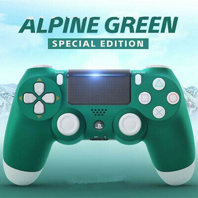 For Sony PS4 Wireless Controller Special Boxing - Berry Blue - Alpine Green  NEW