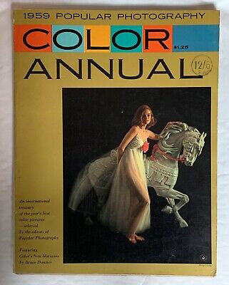 Popular Photography Magazine 1959, Best of Year Worldwide Colour Photography