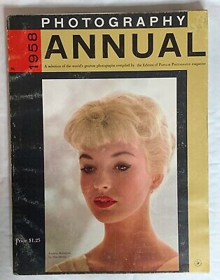 Photography Annual / Magazine 1958, Selection of worlds Finest photographs