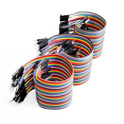 KUONGSHUN 120Pcs/3*40pin 10cm/20cm/30cm Jumper Wire Dupont Cable for Arduino