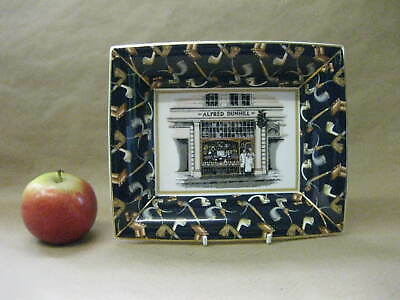 Vintage Alfred Dunhill Pipe Ashtray ~Wedgwood Bone China ~Specially Commissioned