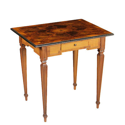 Neoclassical Coffee Table Inlays Italy Last Quarter of 1700