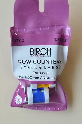 BIRCH ROW COUNTERS - 1 Small 1 Large