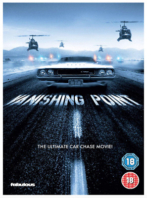 Vanishing Point - UK DVD Region 2 Stock - 2019 - Brand New & Sealed