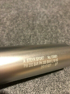 Steyr Air cylinder (short) 2017/07 Still valid for ISSF competition #135681