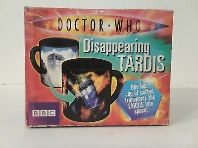 Doctor Who Disappearing Tardis Ceramic Cup Mug BBC 2010
