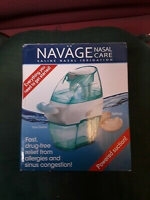 Navage Nasal Irrigation &  Nose Cleaner as seen on TV