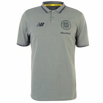 New Balance Celtic Polo Mens Gents Licensed Performance Shirt Tee Top