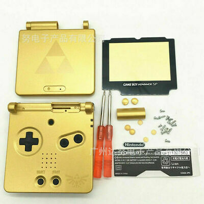 Remplacement Zelda Coquille Case + Outil Pour Nintendo Gameboy Advance GBA SP