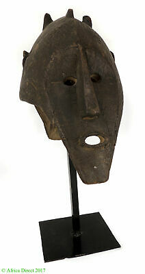 Bamana or Marka Janus Mask on Custom Base Mali Africa