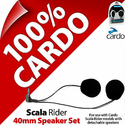 Cardo Scala Rider 40mm Set Altoparlanti Freecom Smartpack Packtalk G9x G9 G4 Q3