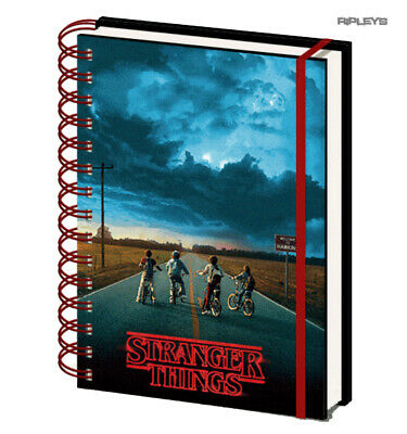 Official STRANGER THINGS A5 Notebook Journal 3D MIND FLAYER Stationery Gift