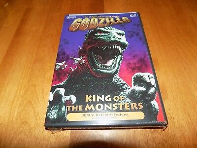 GODZILLA KING OF THE MONSTERS Original Classic Movie Japan Monster Burr DVD NEW