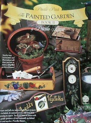 Decorative Painting Priscilla Hauser The Painted Garden Book Ii Step By Step