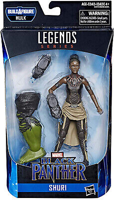 Marvel Legends Avengers Endgame 6 Inch BAF Hulk Series - Shuri IN STOCK!