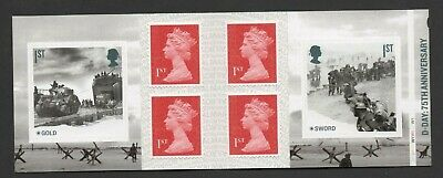 Gb 2019 D Day 75Th Stamp Booklet Cyl Wi