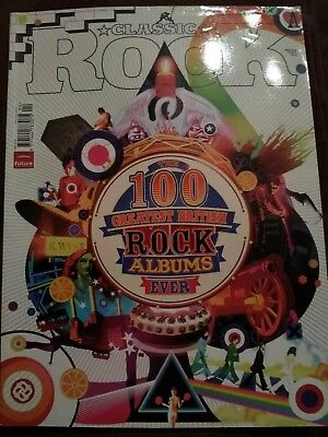 Classic Rock 100 Greatest BRITISH Rock Albums Ever April 2006