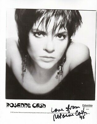Rosanne Cash (Country music singer) Signed photo