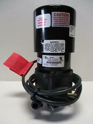 Little Giant Pump TE-3-MD-HC 1/25 HP Non-Submersible In-Line Pump *New*