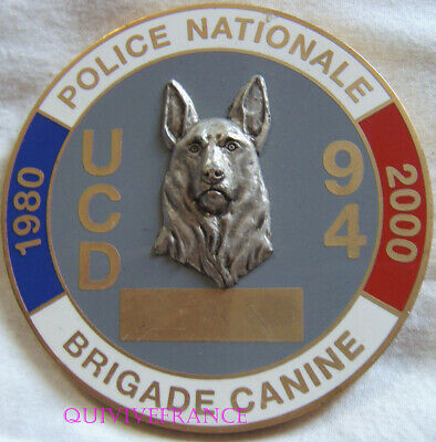 MED8672 - Médaille BRIGADE CANINE POLICE NATIONALE UCD 94