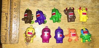 Vintage Gumball Vending Domo Series Figures Charms Toys Lot Of 10