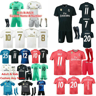 Custom Football Outfit Adult Kids Soccer Suits Training Jerseys Kits +Socks