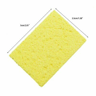 10 Yellow Cleaning Sponge Cleaner for Enduring Electric Welding Soldering Iron