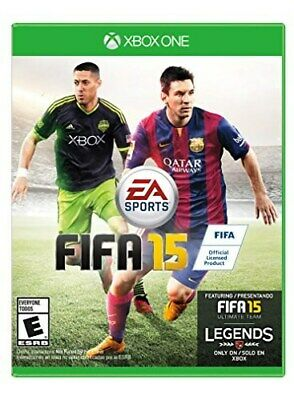 Xbox One Xb1 Game Fifa 15 Soccer 2015 Brand New And Sealed