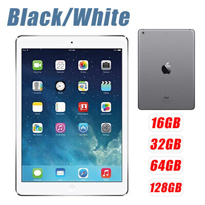 9.7'' Apple iPad Air 2 Factory Unlocked 16/32/64/128GB Wifi All Colors +Warranty