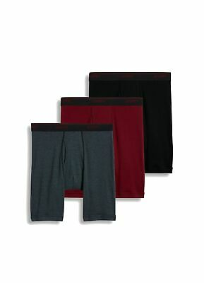 1d30485957be Jockey NEW Red Mens Size Small S Staycool Midway 3-Pack Boxer Brief $30 #