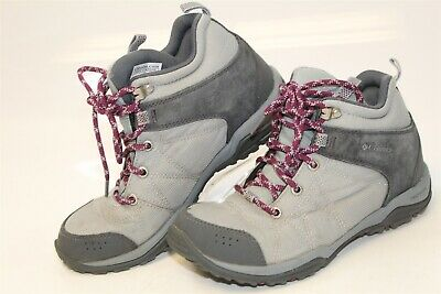 553a7a4116c COLUMBIA BL4548-025 FIRE Venture Mid Textile Womens 7 38 Gray Hiking Boots