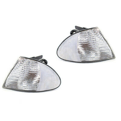 Indicator Lamp Shell Case Housing Clear For BMW E46 4 Door 99-01 63136902765 /66
