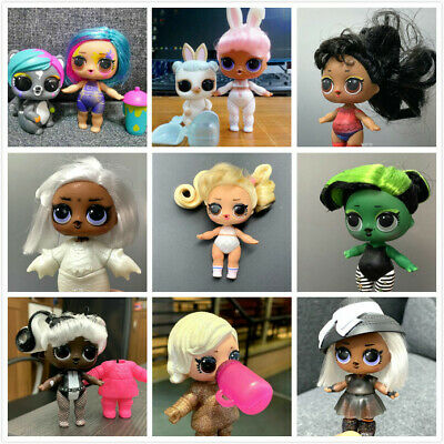 LOL Surprise #HAIRGOALS SNOW BUNNY BHADDIE Her Majesty Dolls-COLOR CHANGED