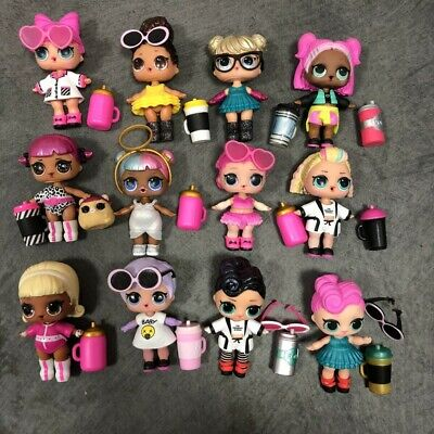 Real Lol Surprise Dolls Big Sister CHERRY GLAM GLITTER QUEENBEE dress as Pic