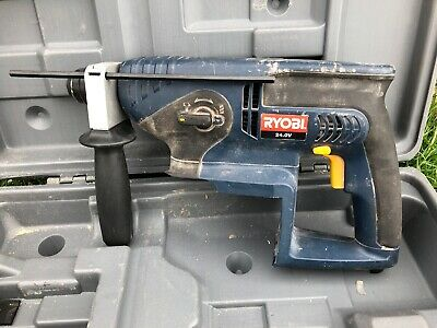 Ryobi Crh-240Re Bare 24 Volt Cordless Sds Drill & Case Needs Battery & Charger