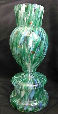 Moser/Welz Victorian Spatter Glass Unusual Colour.