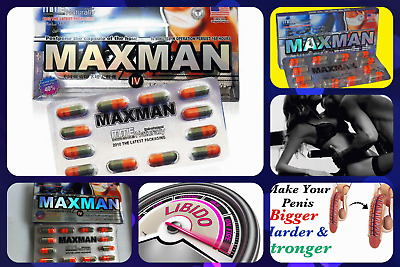 MM IV - Male Enhancement Sex Pills 12 PK - Sexual Desire