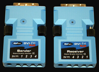 Gefen DVI FM Plus, Sender and Receiver Digital Graphics Interface,with two P/S