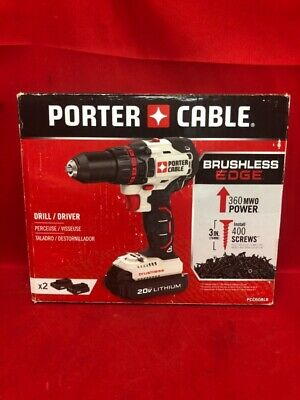 """Porter Cable PCC608LB 20V Max Lithium-Ion Brushless 1/2"""" Drill Drive (CP1049820)"""