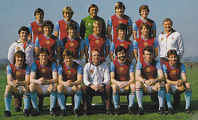 Aston Villa Football Team Photo>1981-82 Season